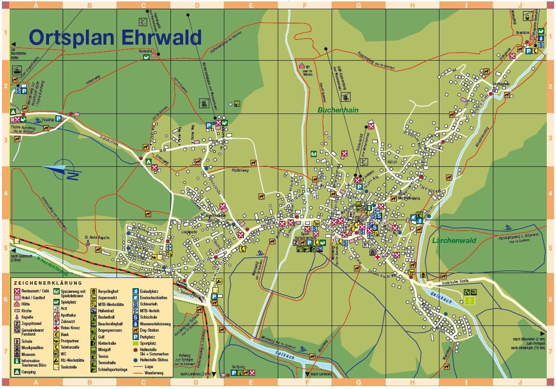 Haus Sieben Zwerge - Ferienwohnungen in Ehrwald Tirol